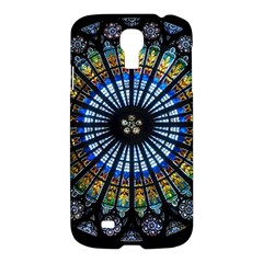 Stained Glass Rose Window In France s Strasbourg Cathedral Samsung Galaxy S4 I9500/i9505 Hardshell Case