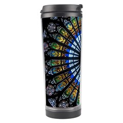 Stained Glass Rose Window In France s Strasbourg Cathedral Travel Tumbler
