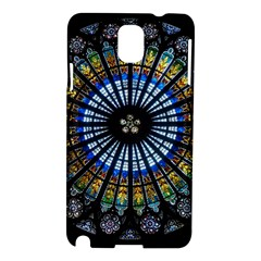 Stained Glass Rose Window In France s Strasbourg Cathedral Samsung Galaxy Note 3 N9005 Hardshell Case