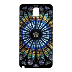Stained Glass Rose Window In France s Strasbourg Cathedral Samsung Galaxy Note 3 N9005 Hardshell Back Case