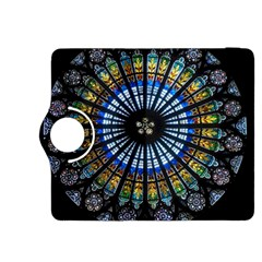 Stained Glass Rose Window In France s Strasbourg Cathedral Kindle Fire HDX 8.9  Flip 360 Case