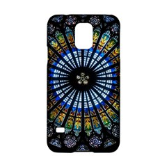 Stained Glass Rose Window In France s Strasbourg Cathedral Samsung Galaxy S5 Hardshell Case