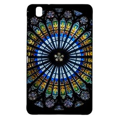 Stained Glass Rose Window In France s Strasbourg Cathedral Samsung Galaxy Tab Pro 8.4 Hardshell Case