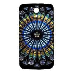 Stained Glass Rose Window In France s Strasbourg Cathedral Samsung Galaxy Mega I9200 Hardshell Back Case