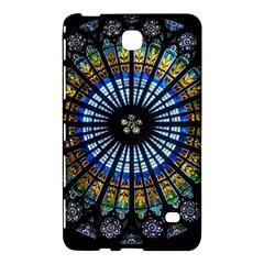 Stained Glass Rose Window In France s Strasbourg Cathedral Samsung Galaxy Tab 4 (7 ) Hardshell Case