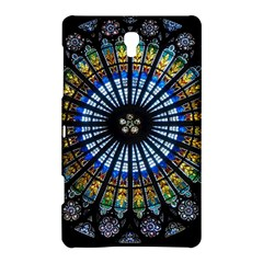 Stained Glass Rose Window In France s Strasbourg Cathedral Samsung Galaxy Tab S (8 4 ) Hardshell Case