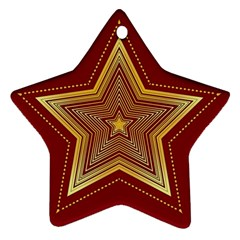 Christmas Star Seamless Pattern Ornament (star)