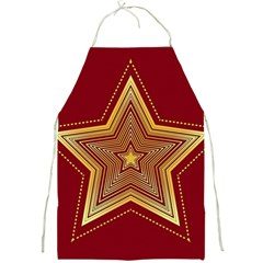Christmas Star Seamless Pattern Full Print Aprons