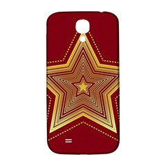 Christmas Star Seamless Pattern Samsung Galaxy S4 I9500/I9505  Hardshell Back Case