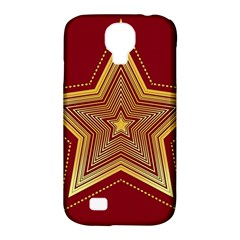 Christmas Star Seamless Pattern Samsung Galaxy S4 Classic Hardshell Case (pc+silicone)