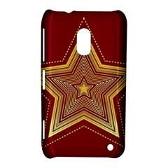 Christmas Star Seamless Pattern Nokia Lumia 620