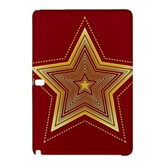 Christmas Star Seamless Pattern Samsung Galaxy Tab Pro 10 1 Hardshell Case