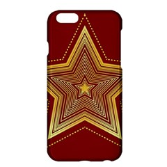 Christmas Star Seamless Pattern Apple Iphone 6 Plus/6s Plus Hardshell Case