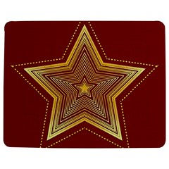 Christmas Star Seamless Pattern Jigsaw Puzzle Photo Stand (Rectangular)