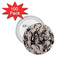 Dragon Pattern Background 1 75  Buttons (100 Pack)