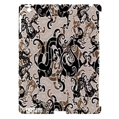 Dragon Pattern Background Apple Ipad 3/4 Hardshell Case (compatible With Smart Cover)
