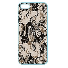 Dragon Pattern Background Apple Seamless Iphone 5 Case (color)
