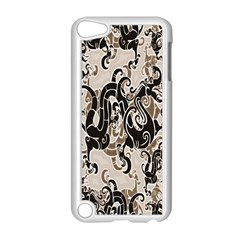 Dragon Pattern Background Apple iPod Touch 5 Case (White)