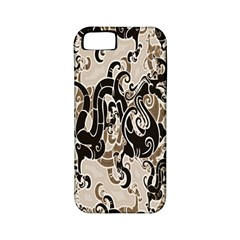 Dragon Pattern Background Apple Iphone 5 Classic Hardshell Case (pc+silicone)
