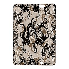 Dragon Pattern Background Kindle Fire Hdx 8 9  Hardshell Case