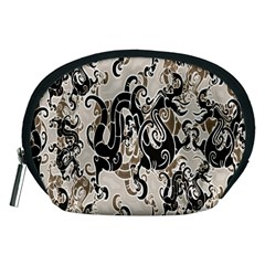 Dragon Pattern Background Accessory Pouches (Medium)