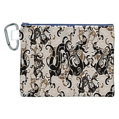 Dragon Pattern Background Canvas Cosmetic Bag (xxl)
