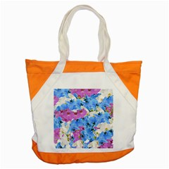 Tulips Floral Pattern Accent Tote Bag