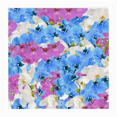 Tulips Floral Pattern Medium Glasses Cloth