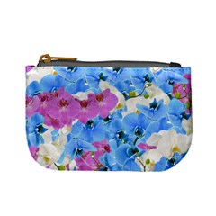 Tulips Floral Pattern Mini Coin Purses