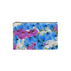 Tulips Floral Pattern Cosmetic Bag (small)