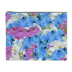 Tulips Floral Pattern Cosmetic Bag (XL)
