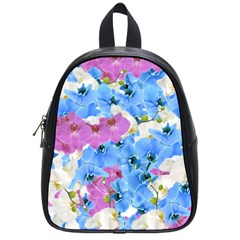 Tulips Floral Pattern School Bags (Small)