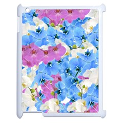 Tulips Floral Pattern Apple iPad 2 Case (White)