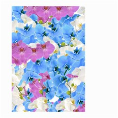 Tulips Floral Pattern Small Garden Flag (two Sides)