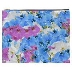 Tulips Floral Pattern Cosmetic Bag (XXXL)