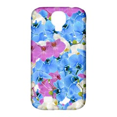 Tulips Floral Pattern Samsung Galaxy S4 Classic Hardshell Case (pc+silicone)
