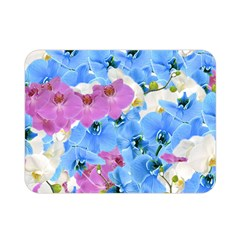 Tulips Floral Pattern Double Sided Flano Blanket (Mini)