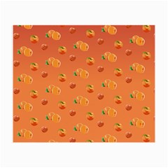 Peach Fruit Pattern Small Glasses Cloth (2-Side)