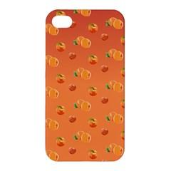 Peach Fruit Pattern Apple iPhone 4/4S Hardshell Case
