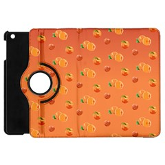 Peach Fruit Pattern Apple iPad Mini Flip 360 Case
