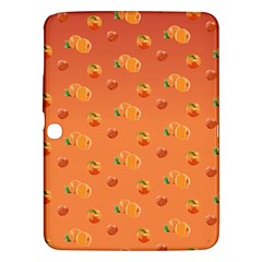 Peach Fruit Pattern Samsung Galaxy Tab 3 (10.1 ) P5200 Hardshell Case