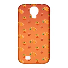 Peach Fruit Pattern Samsung Galaxy S4 Classic Hardshell Case (pc+silicone)