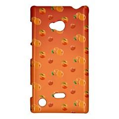 Peach Fruit Pattern Nokia Lumia 720