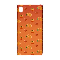 Peach Fruit Pattern Sony Xperia Z3+