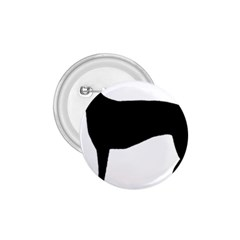 Greyhound Silhouette 1.75  Buttons