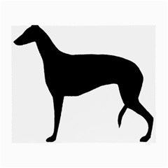 Greyhound Silhouette Small Glasses Cloth (2-Side)