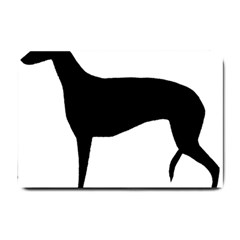 Greyhound Silhouette Small Doormat