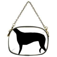Greyhound Silhouette Chain Purses (Two Sides)