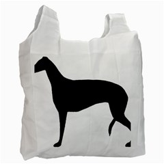 Greyhound Silhouette Recycle Bag (One Side)