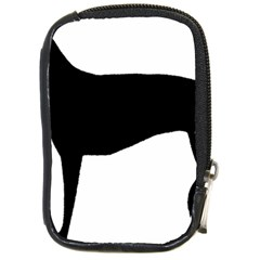 Greyhound Silhouette Compact Camera Cases